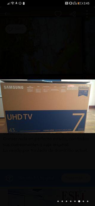 samsung smart tv 43' 4K