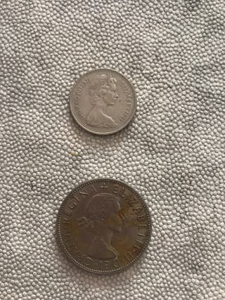 Monedas inglesa