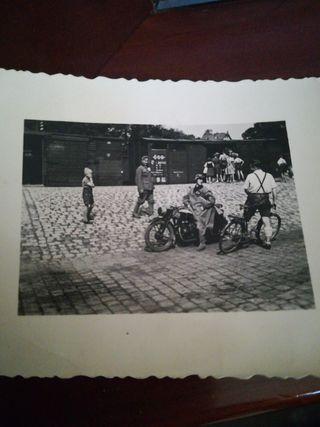 soldado SS moto segúnda Guerra mundial