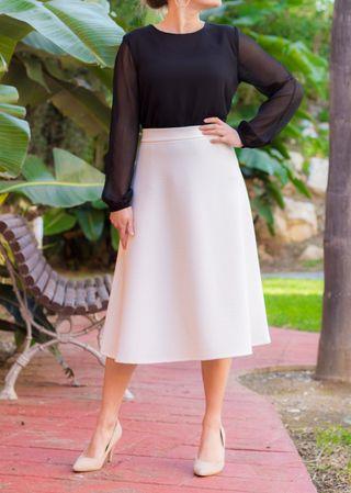 Camisa blusa túnica Blanco mujer negra elegante