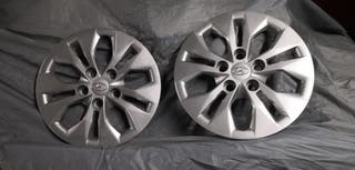 """Llantas 15"""" Hyundai i30 con tapacubos"""