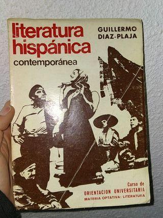"""LITERATURA HISPÁNICA CONTEMPORÁNEA"""