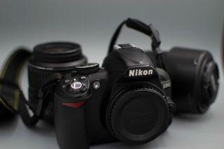 Camara Reflex - Nikon D3100 + 2 Objetivos