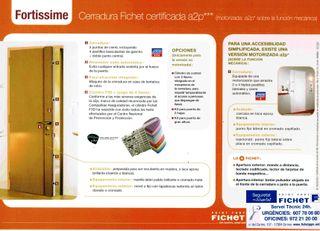 Cerradura Fichet