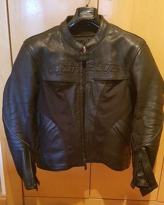 """Chupa"", chaqueta moto AlpineStar Piel"