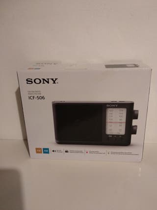 Radio Portatil Sony ICF-506
