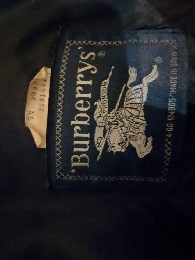 Chaqueta vintage Burberry
