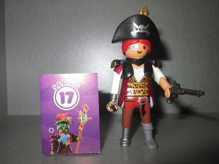 Playmobil. Pirata Steampunk. Serie 17.