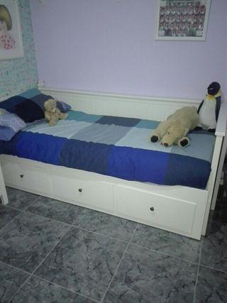 cama nido y armarios