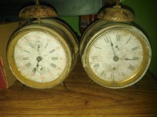 relojes antiguos de mesa vintage
