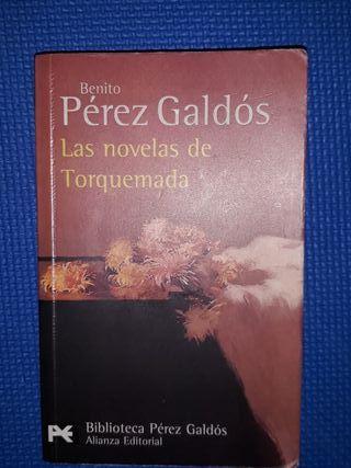 Benito Pérez Galdós. Las novelas de Torquemada.