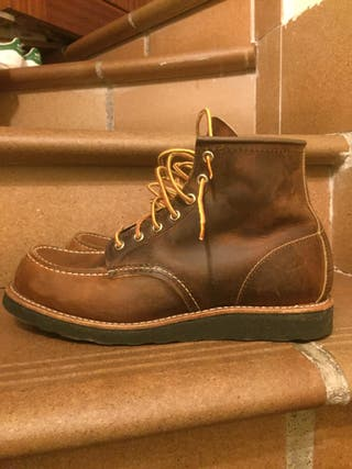 Red Wing boot 42,5 en mano