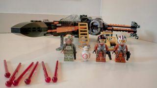 Lego Star Wars 75102 Poe's X Wing. Como nuevo