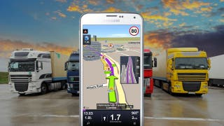GPS SYGIC TRUCK en 3D para camiones