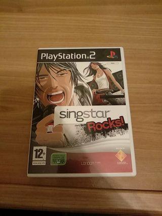 SingStar Rocks! PS2