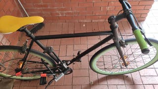 Single speed/fixie bike - No logo size 53. black