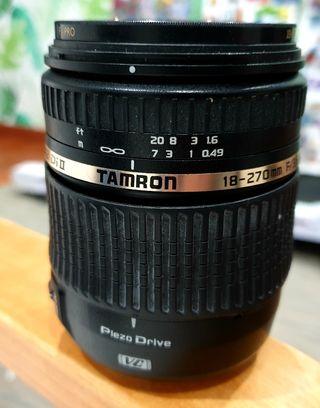 Objetivo Tamron 18-270mm F3.5/6.3 VC