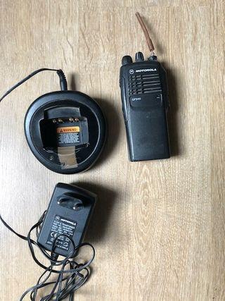 Walkie-talkie Motorola go340 Tm6 cargador