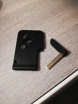 Carcasa nueva con llave virgenpara mando tarjeta.