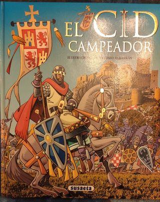 Libro infantil El Cid Campeador