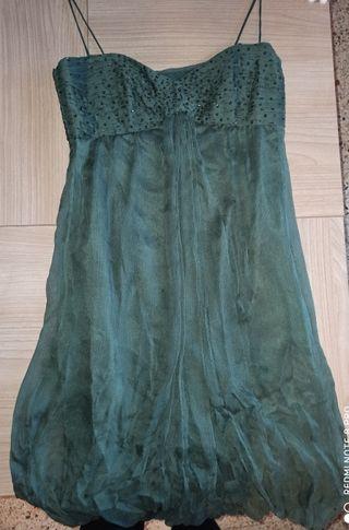 precioso vestido de fiesta Purificación García