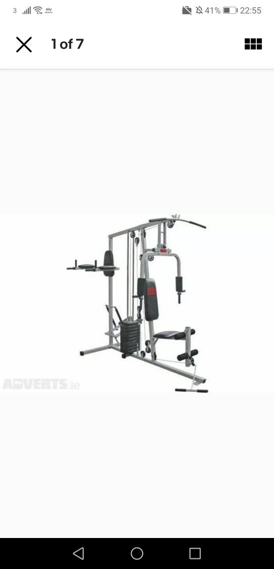 Pro Power Multi Gym (option with row machine)