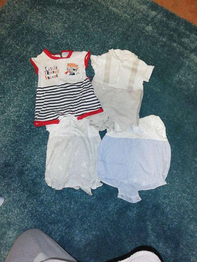 lote bebe niño 0 - 1 mes verano