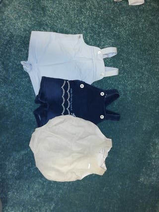 lote ropa bebé niño 3 meses verano