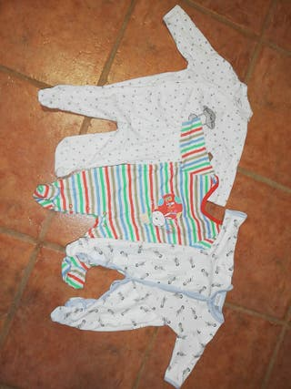 lote pijama bebe unisex 0 3 meses
