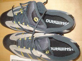 Zapatillas bici montaña Shimano t44
