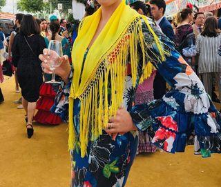 traje flamenca canastero
