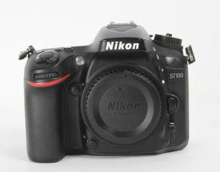 Cámara Nikon D7100 como nueva (cuerpo)