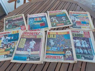 Lote periódicos deportes valencianos