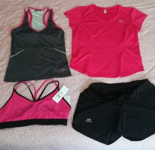 Lote ropa deportiva mujer