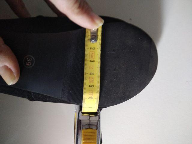Botas altas de tacón n-38 nuevas