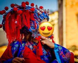 Carnaval disfraz