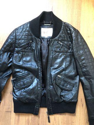 Pepe Jeans chaqueta de cuero