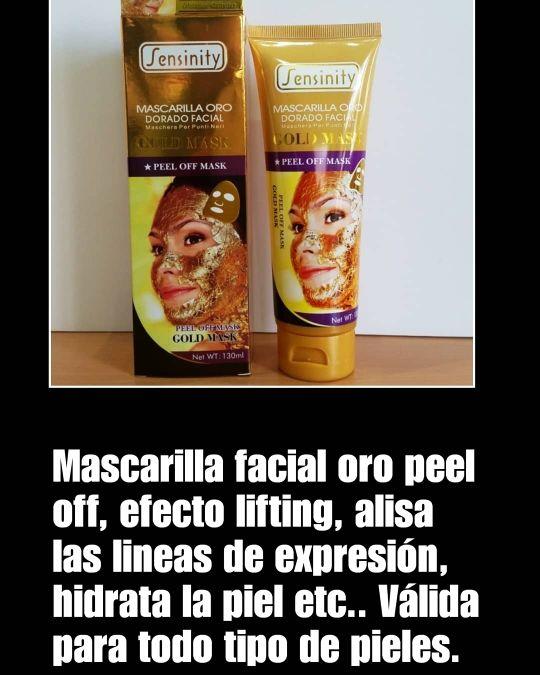 Mascarillas faciales Sensinity