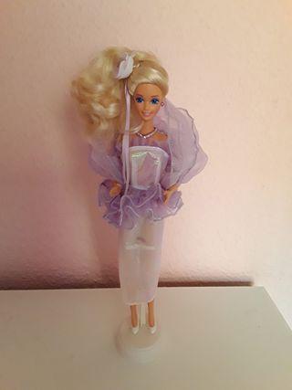 Barbie años 90 vestido sirena mermaid