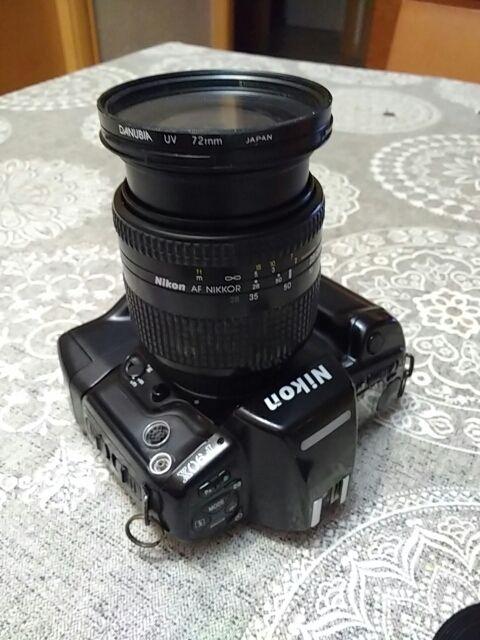 Solo Cámara analógica Nikon F90X