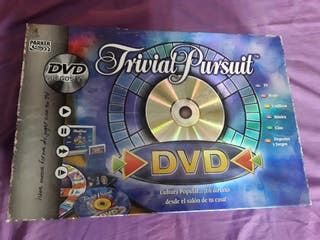 Juego de mesa Trivial con DVD