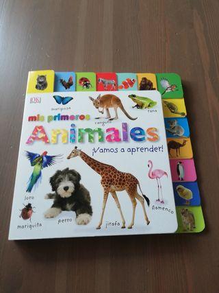 Cuento Mis primeros animales ¡Vamos a aprender!