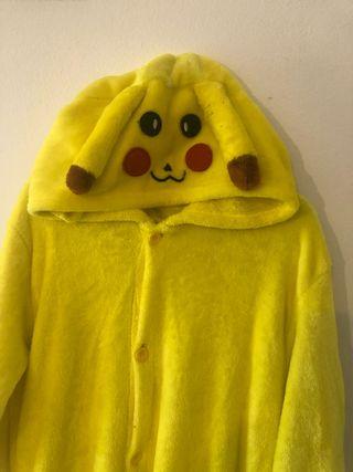 Pijama- disfraz Pikachu