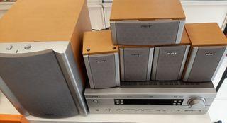 Home cinema amplificador Yamaha Rx-B340RDS