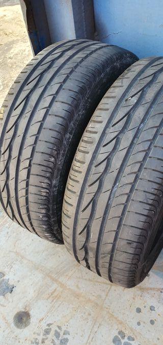 2 unidades Bridgestone al 195/55/15/ al 80%