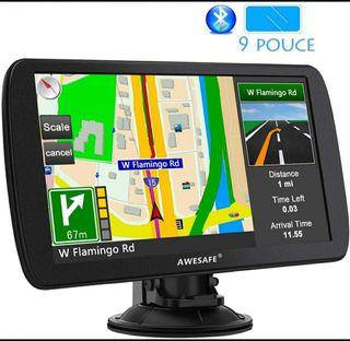 """GPS CON GRAN PANTALLA 9"""" CAMIONES AUTOBUSES"""