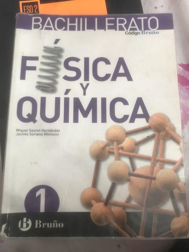 libro de física y quimica 1bach
