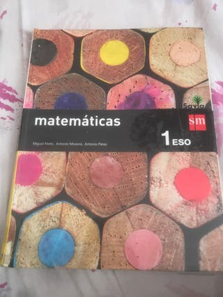 Libro matemáticas 1 de la eso