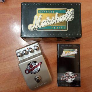 Marshall Pedal compresor para guitarra o bajo Boss
