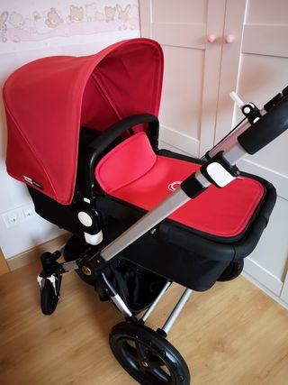 cuco y silla Bugaboo Camaleon serie 3 COMO NUEVO